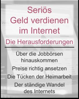 Seriös Geld verdienen im Internet: Die Herausforderungen