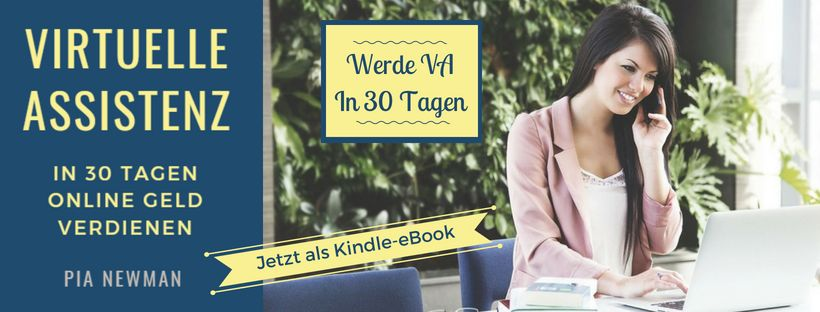 Virtuelle Assistenz Banner Jetzt als Kindle Ebook